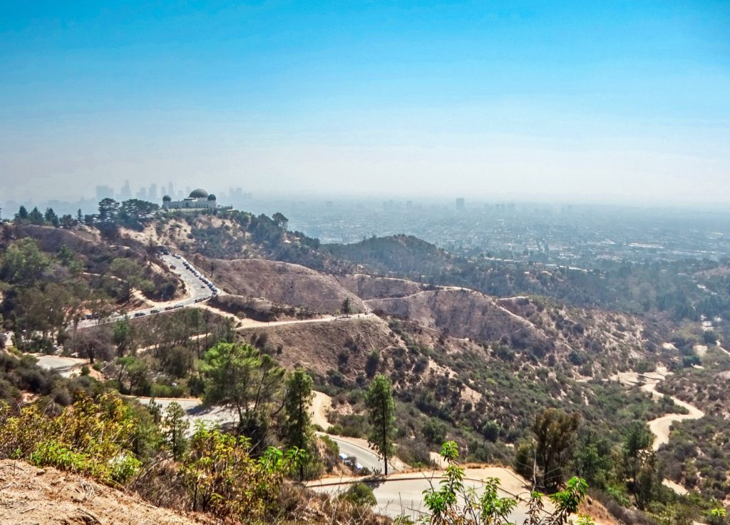 Wanderroute zum Hollywood Sign
